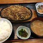 絆食堂 - 料理写真:牛焼肉定食=700円 税別