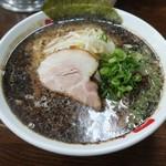 なんつッ亭 - ・「黒マー油豚骨醤油らーめん(\750)」