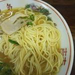 中華そば 陽気 - 麺・クローズアップ