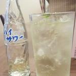 福 タイ料理 - 「パクチーレモンサワー」(550円)