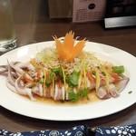 福 タイ料理 - 「プラームッヌンマナオ」(850円)