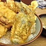 豊野丼 - 穴子天丼