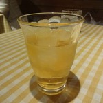 トラットリア ジリオロッソ - リンゴジュース