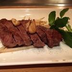 鉄板焼さとう - 和牛赤身熟成ステーキ