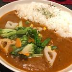 燻製カレー  くんかれ - 野菜カレー