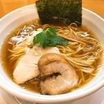 纏 - 料理写真:平子煮干そば(750円)