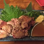 IZAKAYA50 - 宮崎県産地鶏 レバ刺し