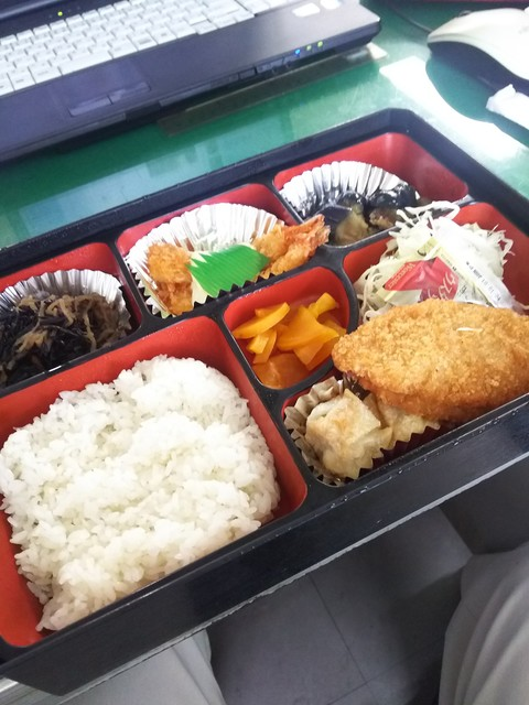牛々亭 日の出店 - 日替わり弁当400円
