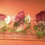 アルレッキーノ - 鮮魚のカルパッチョ3種盛り合わせ