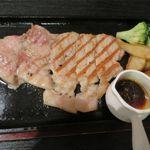 ランチョ・エルパソ - どろぶた絶品リブロースのステーキ(200g、1,480円)