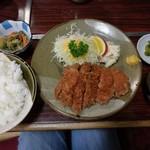 とんかつやまと - 料理写真:松とんかつ定食 1188円