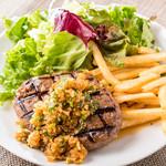 ブッチャーズキッチン - 料理写真:ランチ 和風ハンバーグ
