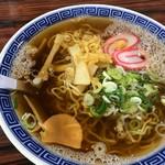 ひさみなと食堂 - かけ中華 大盛 ¥750
