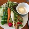うさぎのいる島 - 料理写真:ランチのサラダ