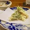 蕎麦 もり木 - 料理写真:天麩羅盛り合わせ(ランチ1.8千コース)