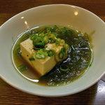 四季のおでん - お通しのお豆腐