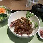 神戸洋食キッチン - リブロースステーキ膳 1,880円