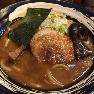 笹はら - 料理写真:限定ラーメン(味噌ラーメン)830円(2017.10)