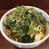 やしま - 料理写真:春菊天そば('17/10/09)