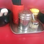 74473922 - 【2017.10.9(月)】テーブルにある調味料
