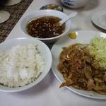 だるま軒 - 焼き肉ライス 700円