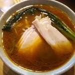 一途 - 麺 途(みち)800円 カレー風味