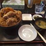 あげ市 - デカ盛り丼 1200円