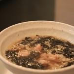 香 - 料理写真:ワンタンスープ