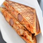 マイキムチ&コリアンデリ ハンアリ - トマトチーズ&キムチホットサンド