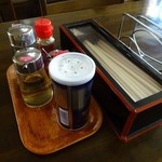 博陽軒 - テーブルの上