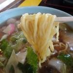 博陽軒 - 麺は共通の中細麺