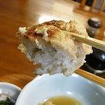 たべものや らうらう - 魚ととうふの淡白な旨みに上品なダシが良く合って美味しいハンバーグでした