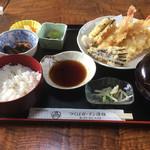 優雅 - 天ぷら定食