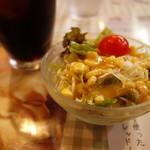 ケニーズハウスカフェ - セットサラダ
