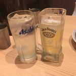 74482249 - ハイボール、レモンハイ ¥450
