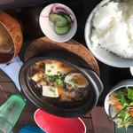 海沿いの キコリ食堂 - 牛スジ煮込み定食