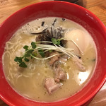 濃厚鶏白湯拉麺 乙 -