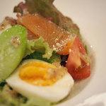 ビストロ ドゥ ペリゴール - ランチのニース風サラダ