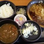 74485007 - 朝食セット(納豆)360円+カレールー(クーポン使用)