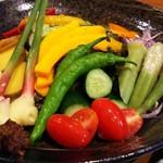 74485641 - 八王子野菜採り直サラダ