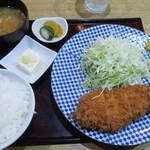 とんかつ 鉄 - ロースカツ定食