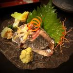 和楽 - 秋刀魚の刺身