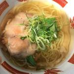 麺屋 宗 - 会津ラーメンショー2017「金色香味塩らぁ麺」