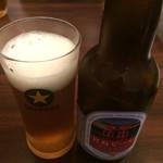 お好み焼まとちゃん - 宮島ビール