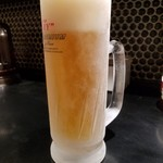 博多 一風堂 Marunouchi - 生ビール(500円)