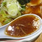 74489897 - 中華そば(醤油)/スープ