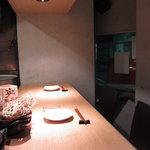 鳳雛 - くつろげるカウンター席2