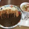 マロン カフェ - 料理写真:メガカツカレー 680円