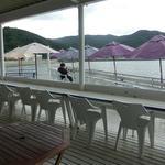 ボートカフェ - もちろん外でもOK