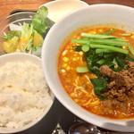 蔓山 - 担々麺セット1000円